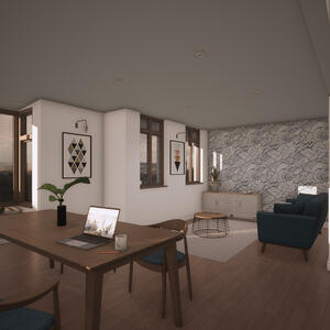 Marraum Architects_Flushing_Full House Renovation_Interior Render 03