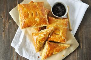 Ham and Brie Breakfast Pastries