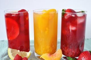 Summer Fruity Iced Teas
