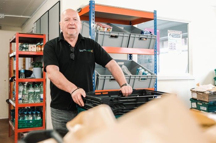 John McCorry West End Foodbank