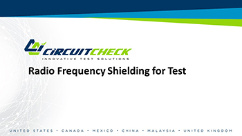 Radio Frequency Shielding for Test Webinar Video