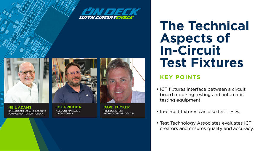 On Deck with Circuit Check - Technical Aspects of In-Circuit Test Fixtures