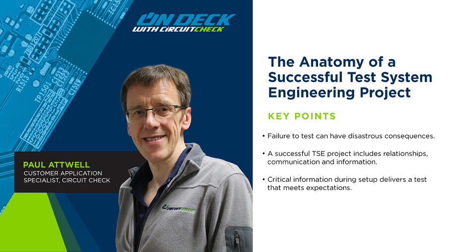 On Deck with Circuit Check - The Anatomy of a Successful Test System Engineering Project