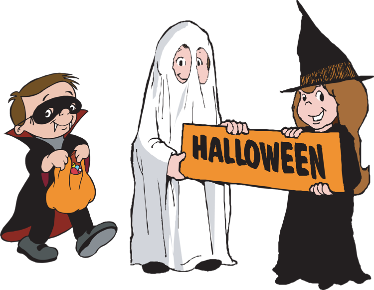 Network Like A Trick Or Treater