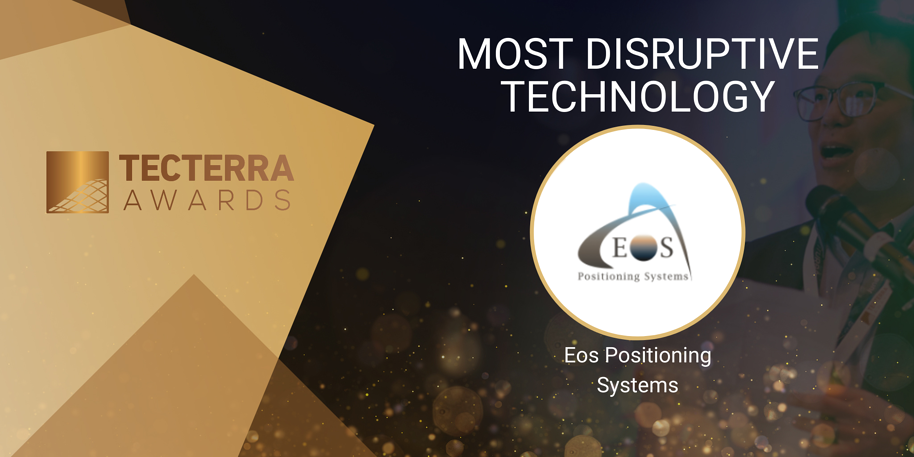 Eos Positioning Systems: 2020's Most Disruptive Technology