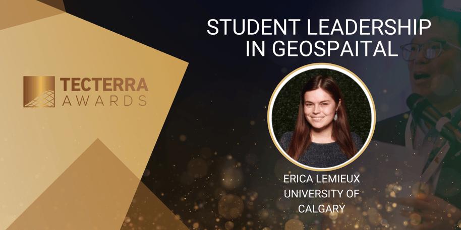 Meet Erica, TECTERRA'S 2020 Student Leader