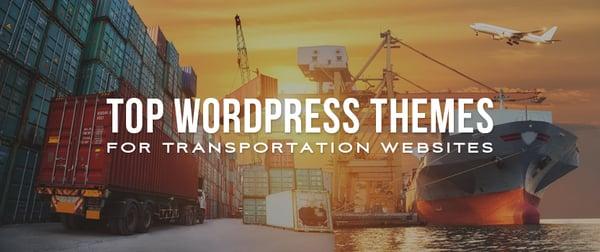 Top WordPress Themes for Transportation Websites