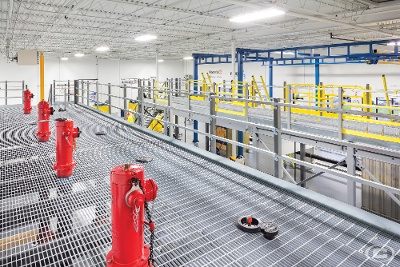 A mezzanine lift is a helpful addition to any facility