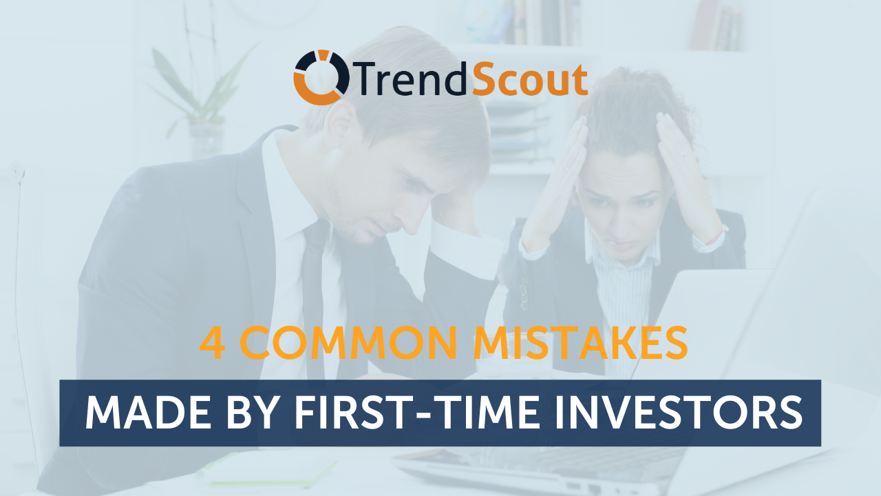 4 common mistakes made by first-time investors
