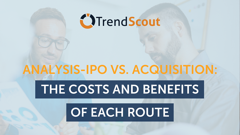 Analysis - IPO vs. Acquisition: The costs and benefits of each route