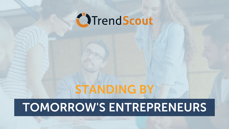 Standing by Tomorrow's Entrepreneurs
