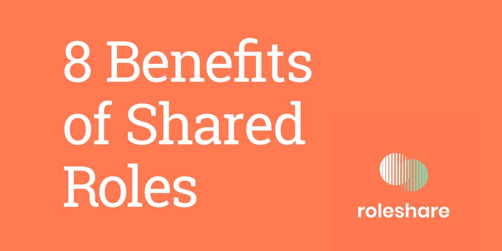 8 benefits of job sharing.