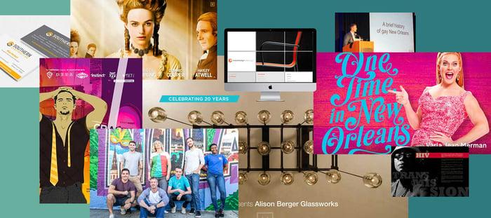 Celebrating twenty years photo collage