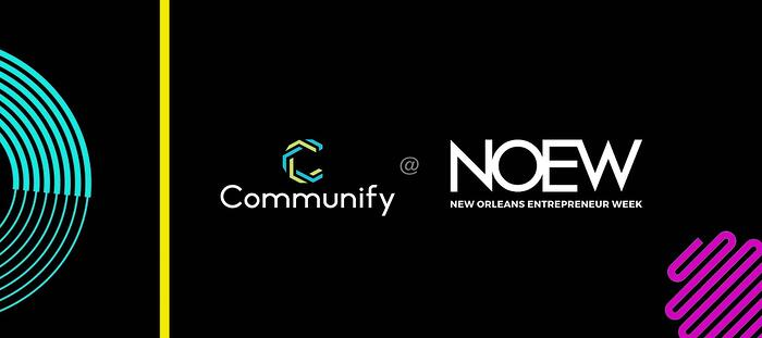 Communify at NOEW graphic