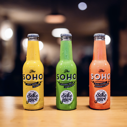 Side by side with... Soho Juice Company!