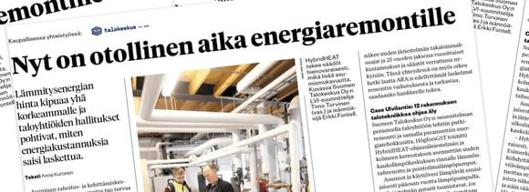 Miten voit parantaa taloyhtiösi energiatehokkuutta?