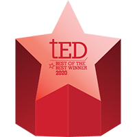 WDK Wins 2020 tED Best of the Best Award