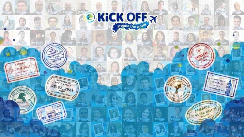 Kick Off 2021 | ebankIT around the world