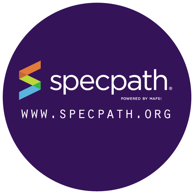 SpecPathpurple Circle Logo