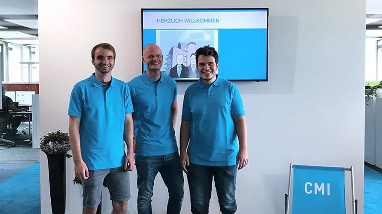 Das Team der CMI Cloud
