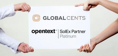 Global Cents awarded OpenText Platinum Partnership