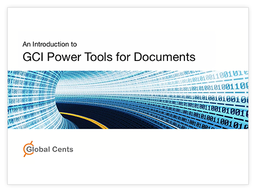 Introduction to GCI PowerTools for Documents