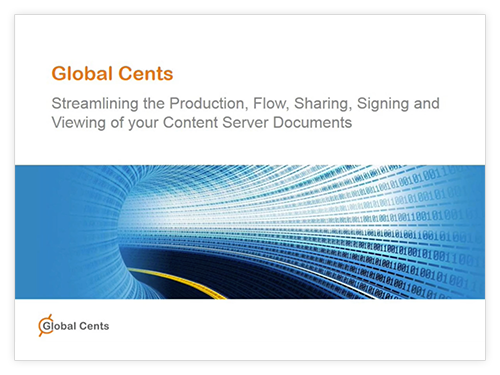 Streamlining of Your Content Server Documents