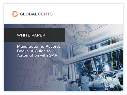 Manufacturing Records Books: A Guide to Automation with SAP