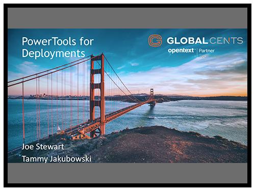 GCI PowerTools for Deployments On-Demand Webinar