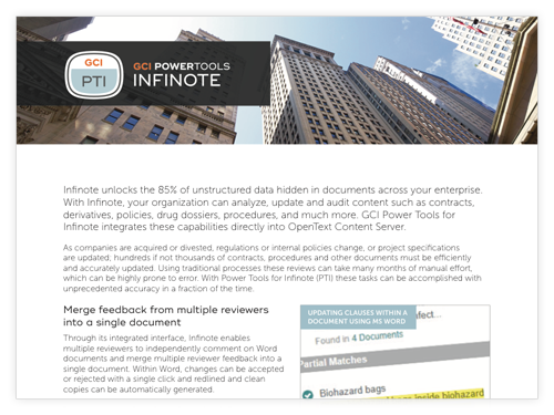 GCI PowerTools for Infinote