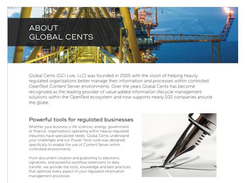 GCI Services & About