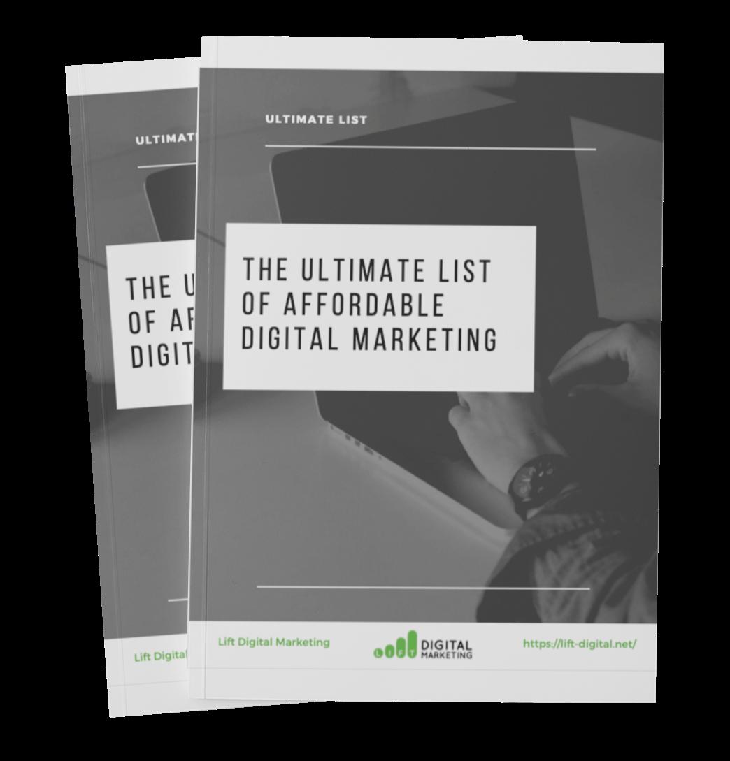 The Ultimate list of affordable digital marketing 3D mock-1
