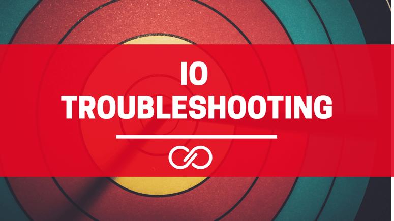 Troubleshooting - IO Readings