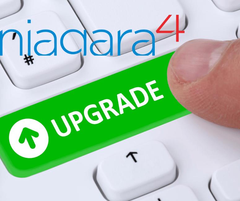 Upgrade your Niagara AX to Niagara 4 and benefit from discounts