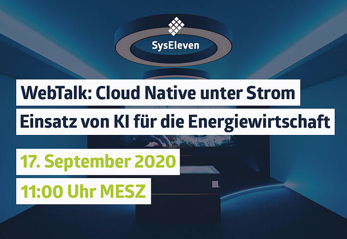 WebTalk: CloudNative unter Strom - Einsatz von KI für die Energiewirtschaft   mit ifesca GmbH