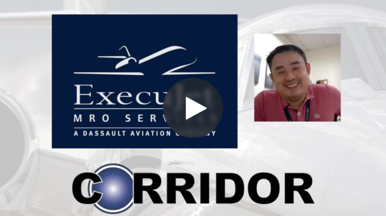 Video Blog Interview - Learn how ExecuJet MRO Services transformed into a Next Gen Service Center with CORRIDOR