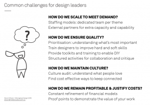 How to build a sustainable design team