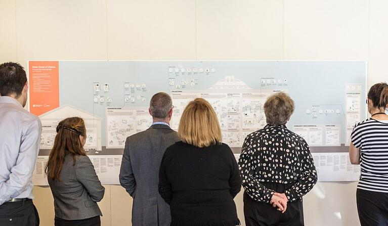 From sketch to reality: Re-designing the service model of the State Library of Victoria