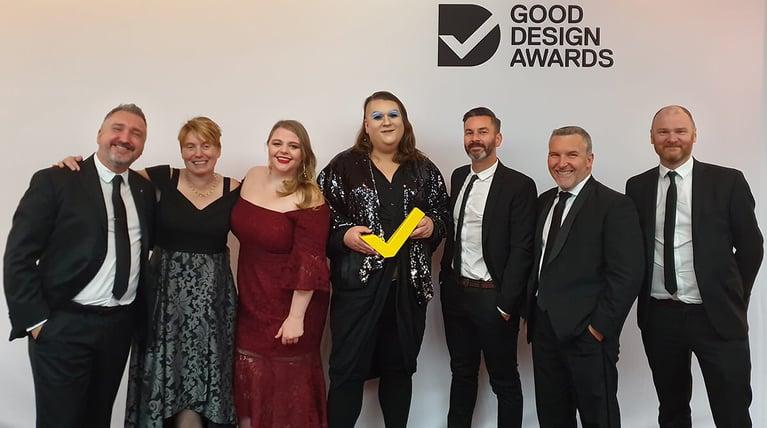Meld Studios awarded Gold at Good Design Awards 2019