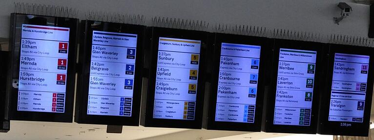 Improving wayfinding at Melbourne's busiest train station