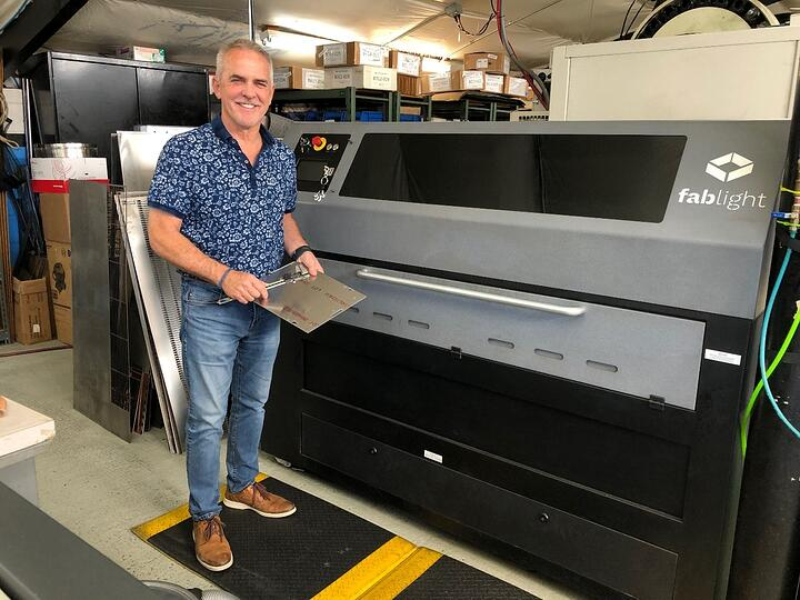 American Prototype & Production Inc. Uses FabLight Laser