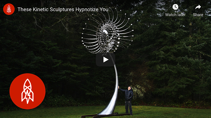 Cutting Kinetic Sculptures with a FabLight