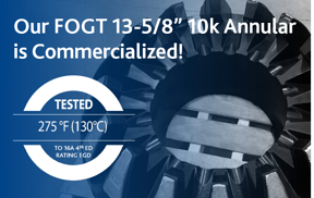 Product Announcement: Our FOGT 13-5/8