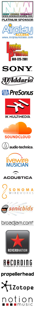 2013 USA Songwriting Competition Sponsors