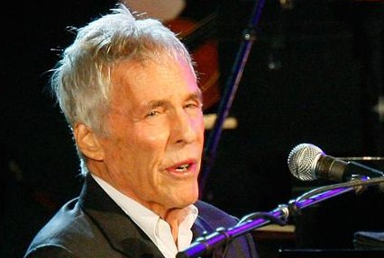 Burt Bacharach, legendary songwriter