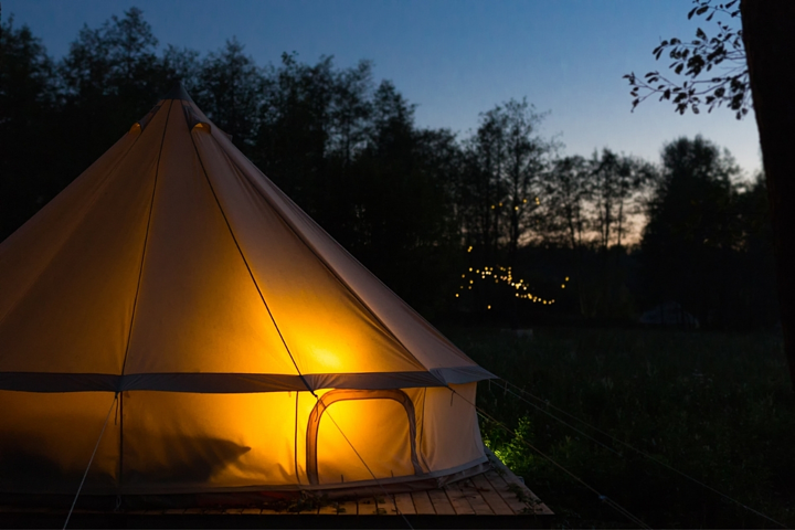 Setting up Permanent vs. Popup Glamping Sites