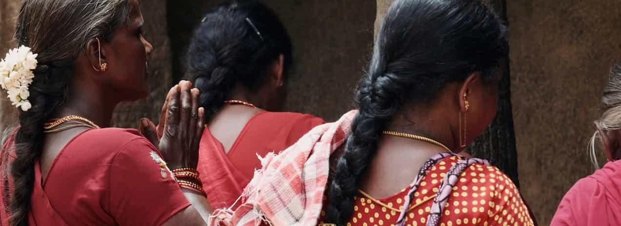Extensiones de pelo humano de la india