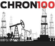 Houston Chron 100 2019 logo