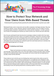 How to Protect Your Network and Your Users from Web-Based Threats