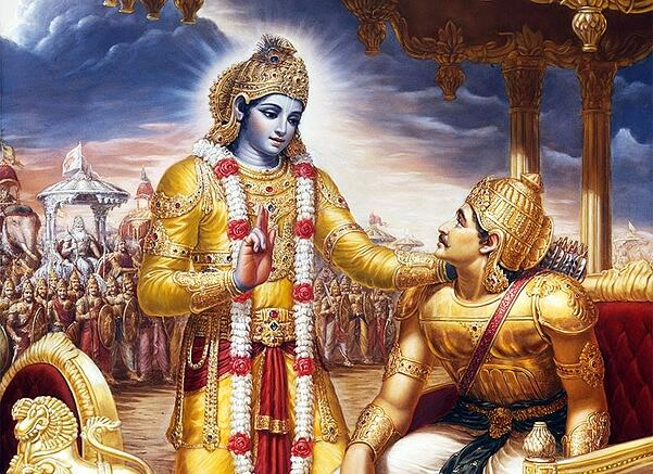 Arjuna's Problem and Bhagavān's Solution: A Reflection